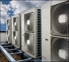 Klimatyzacja centra handlowe